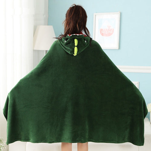 dinosaur hooded blanket dinosaur blanket with hood dinosaur hooded throw