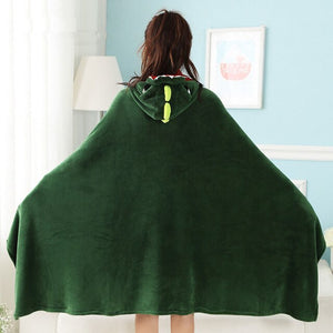 Dinosaur Hooded Blanket for Kids and Adults dinosaur hooded blanket dinosaur blanket with hood dinosaur hooded throw