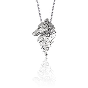 Wolf Necklace Stainless Steel Wolf Necklace Stainless Steel