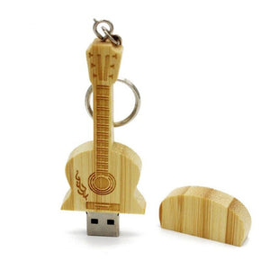 Wooden Guitar USB Flash Drive Wooden Guitar USB Flash Drive