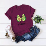 Let's Avocuddle Avocado T-shirt Let's Avocuddle Avocado T-shirt