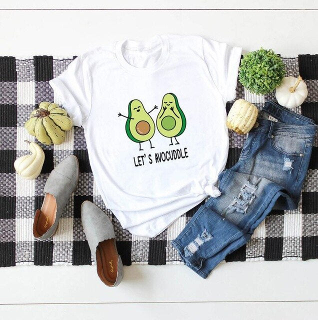 Let's Avocuddle Avocado T-shirt