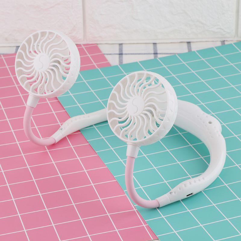 The Lazy Fan - Portable Hanging Neck Fan