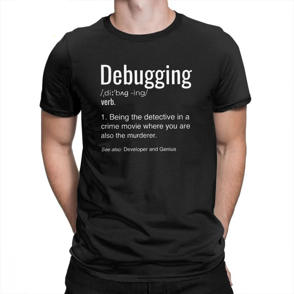 Debugging Definition Programmers Coding T-Shirt
