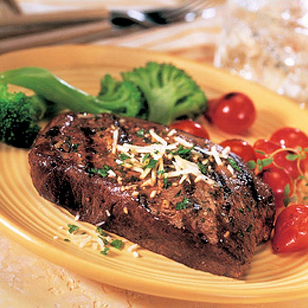 Buffalo Top Sirloin Steak 6.0 oz - 8 pack
