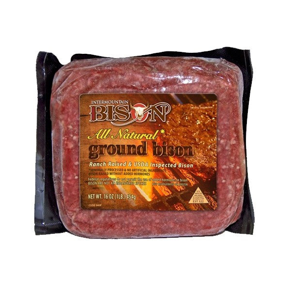 Ground Bison - 8 pack
