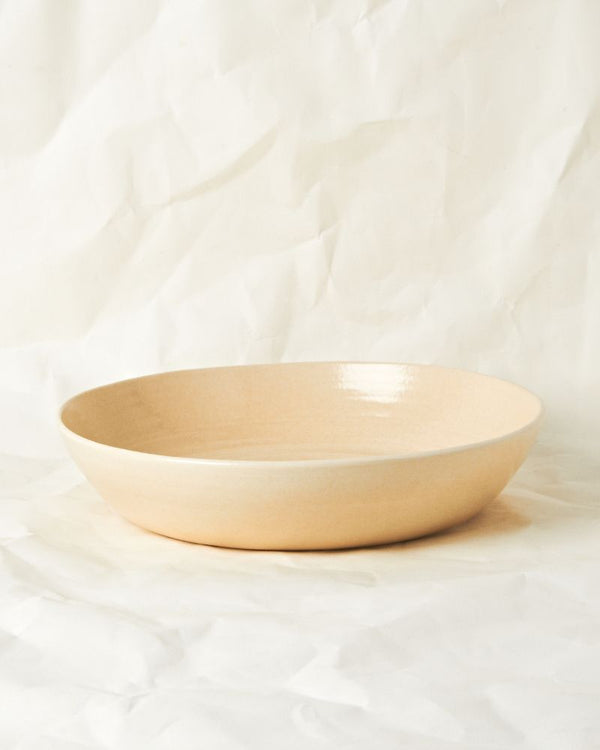 Large serving bowl in Oatmeal