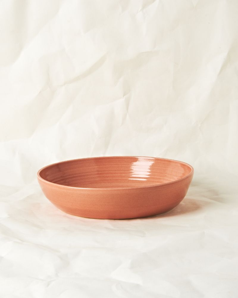 Serving bowl set in Sunset