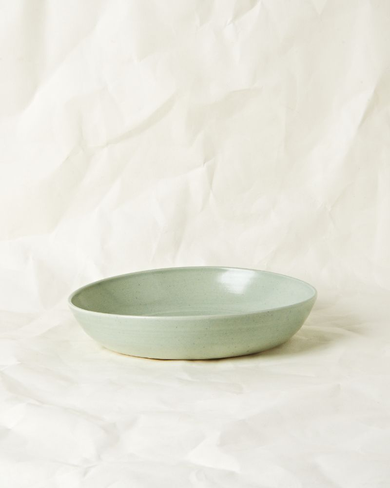 Medium serving bowl in Seaglass