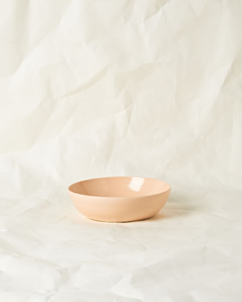 Serving bowl set in Raw Plaster