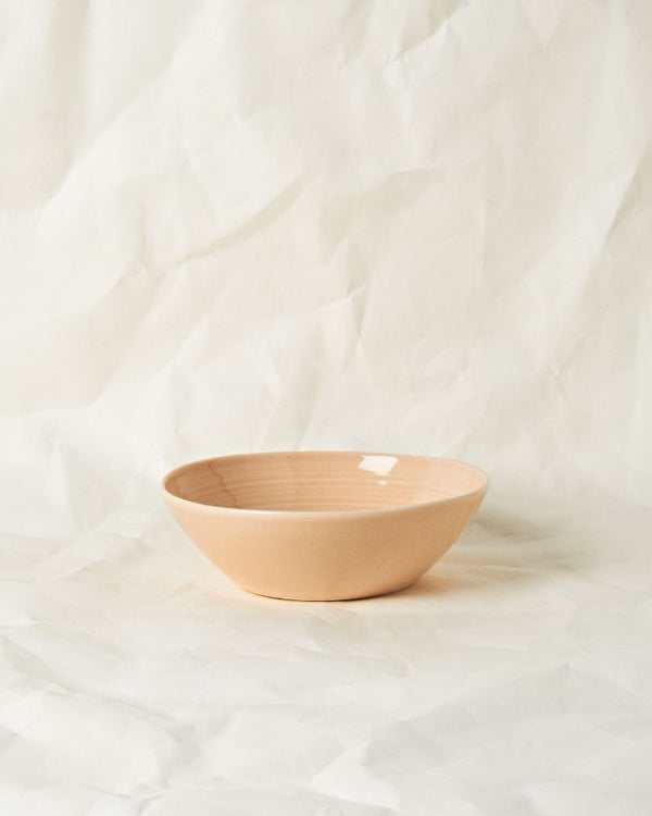 Everything bowl in Raw Plaster