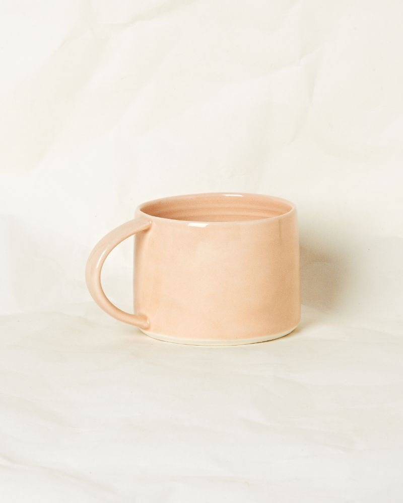 Small mug in Raw Plaster
