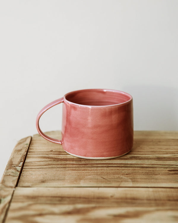 Large mug in Rhubarb