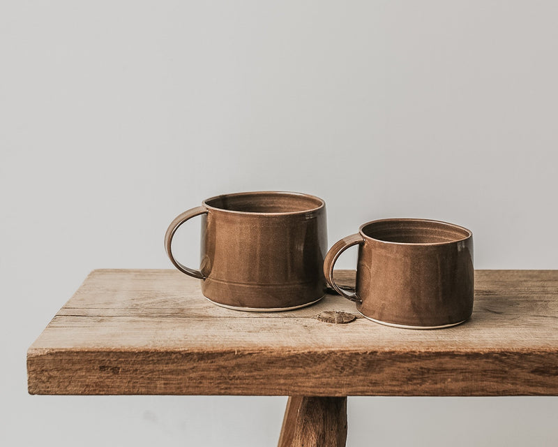 Large mug in Chestnut