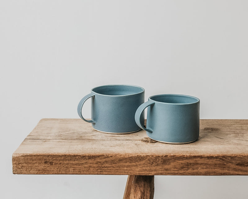 Large mug in Denim