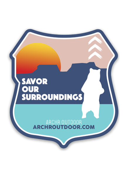 """Savor Our Surroundings"" Bear's Ears National Park"