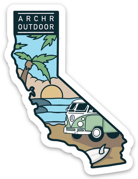 Cali Vibes Sticker