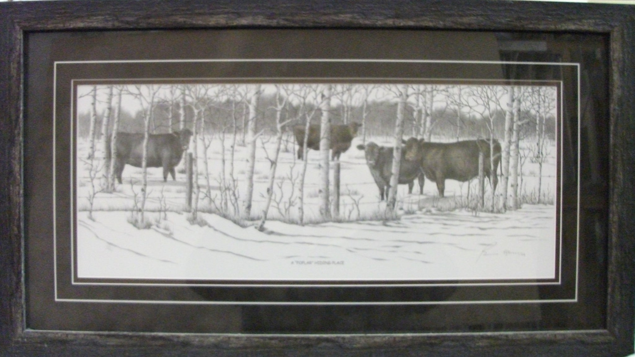 Bernie Brown Ranch and Prairie Pencil Artist