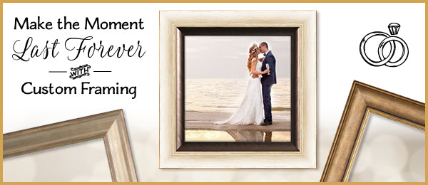 "Say ""I Do"" to Custom Picture Framing"