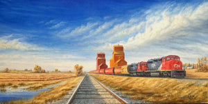 Grain Train by Dan Reid