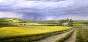 Canola Fields by Dan Reid