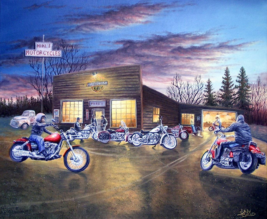 Meeting at Mike's by Dan Reid