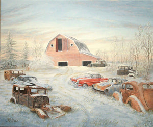 Frosty Treasures Stretched Canvas Artwork by Dan Reid