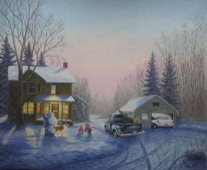 """Christmas Eve"" by Dan Reid"