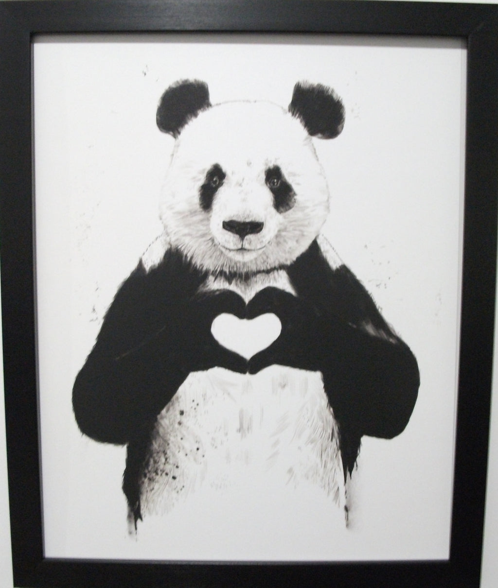 """ All You Need is Love "" Panda"