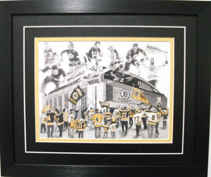"Boston Bruins ""Big Bad Bruins"" Game Day Series by Jeremy Bresciani"