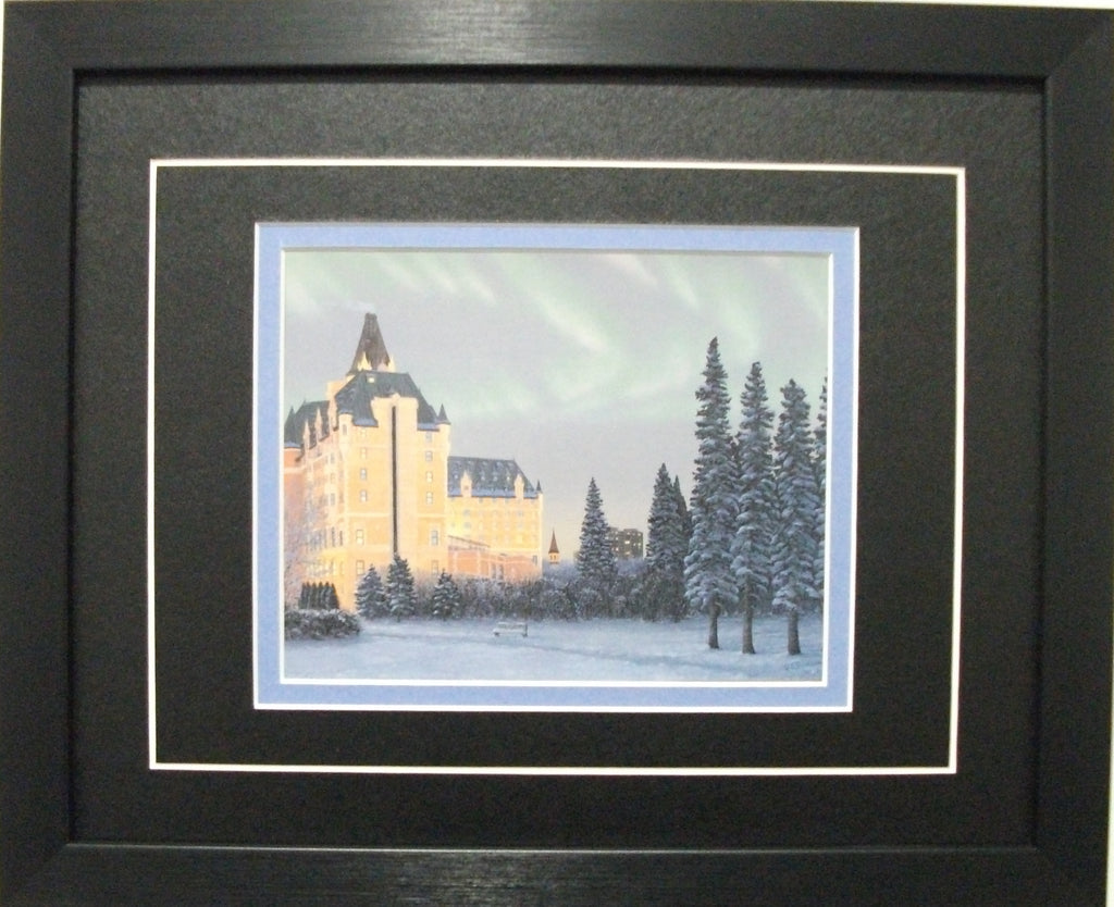 "Saskatoon "" Castle on the River""  by Glen Scrimshaw"