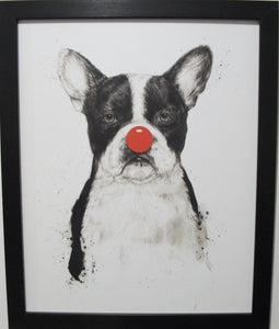 "Boston Terrier "" I'm Not Your Clown"""