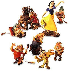 Snow White and the Seven Dwarfs Ornament Set