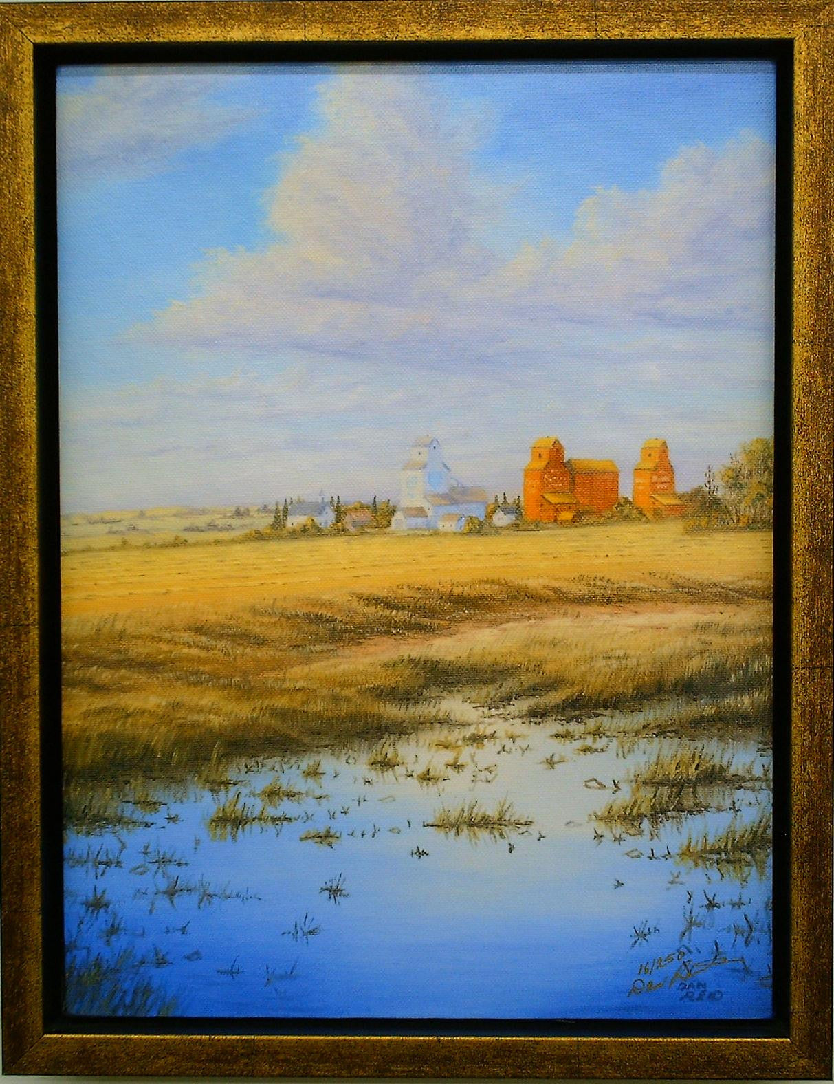 Prairie Skyline by Dan Reid