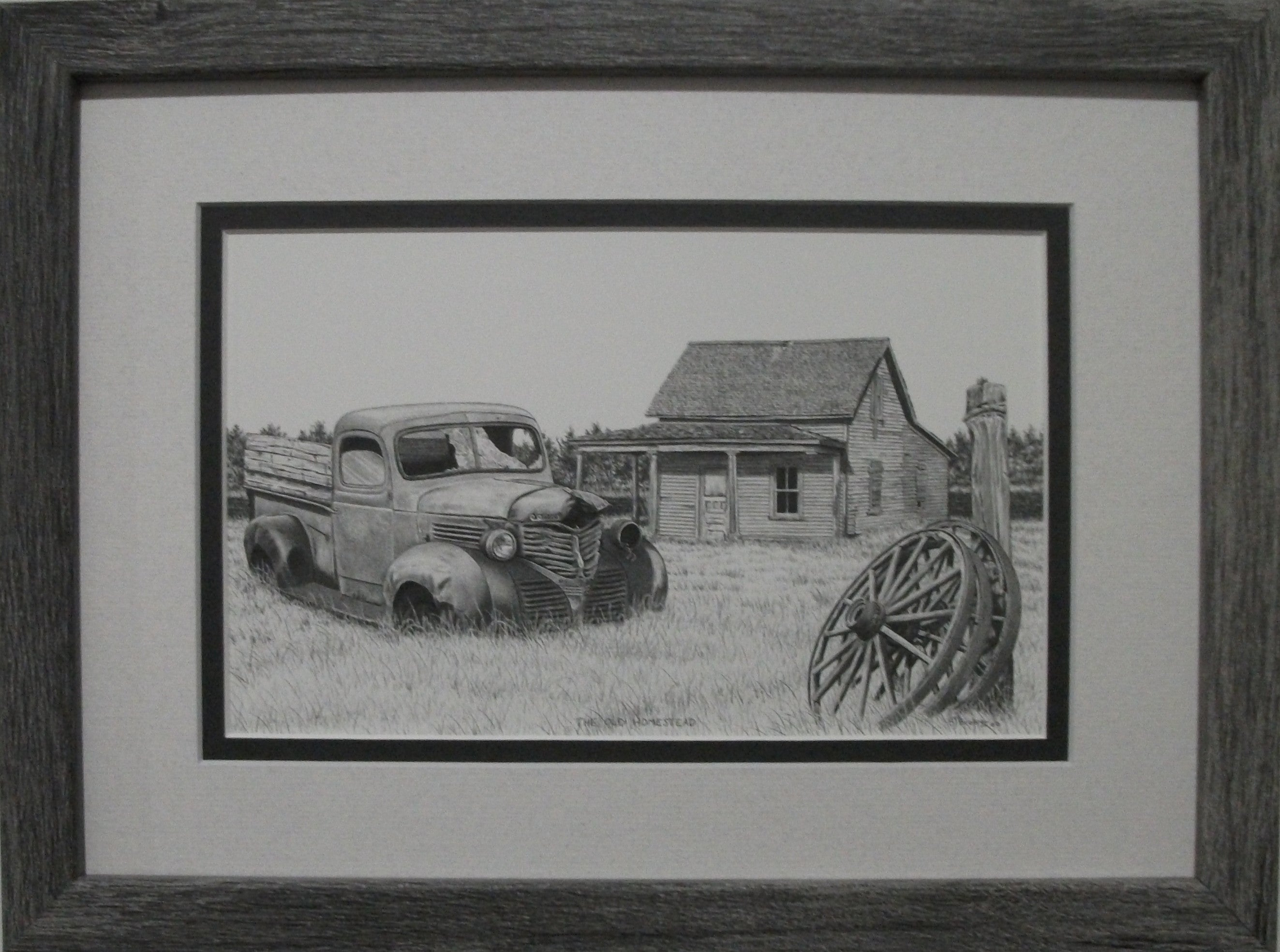 The Old Homestead by Bernie Brown
