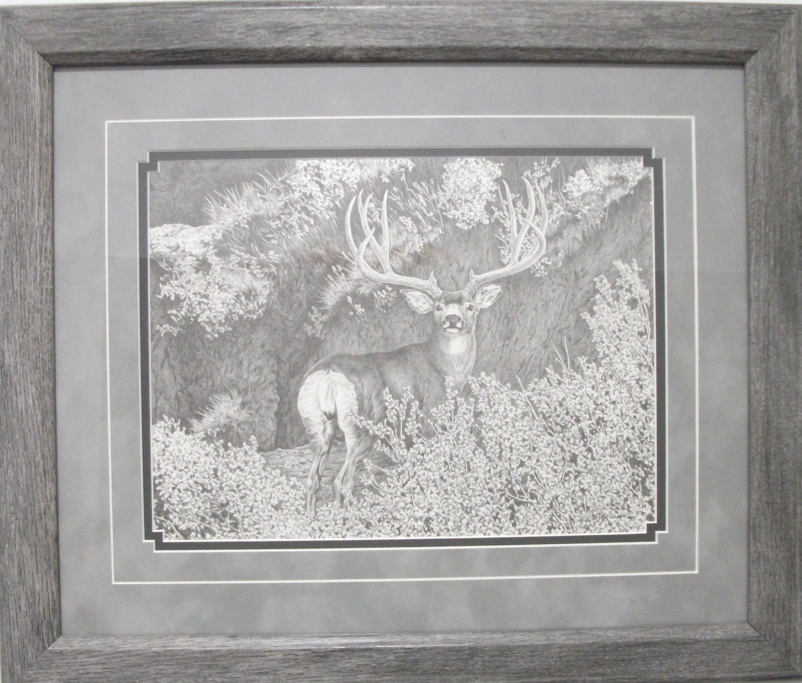 Trophy Buck by Bernie Brown