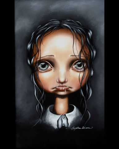 Poor Little Abigail by Angelina Wrona