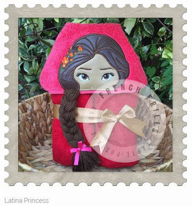 Latina Princess Hooded Bath Towel