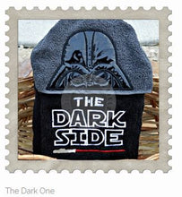 The Dark One Hooded Bath Towel