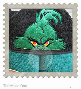 The Mean One Hooded Bath Towel