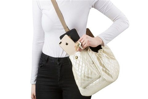 Daisy Sling Bag White
