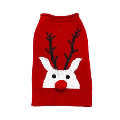 D / Reindeer sweater