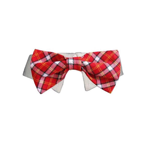 Bow Tie Red Checker