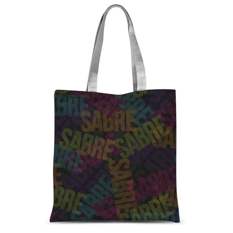 Sabre Takeover - Dark Colors  Sublimation Tote Bag