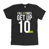 Fall 9, Get Up 10