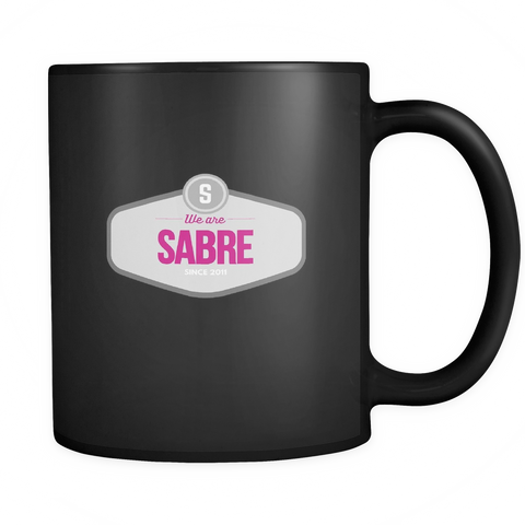 We Are Sabre Black 11oz Mug