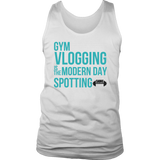 Gym Vlogging is Spotting