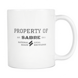 Property of Sabre Mug