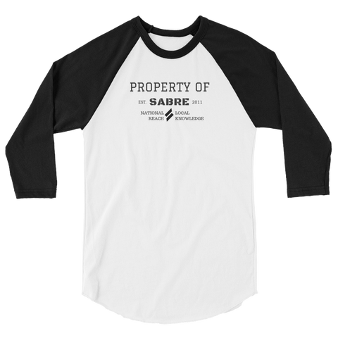 Property of Sabre | Unisex Raglan