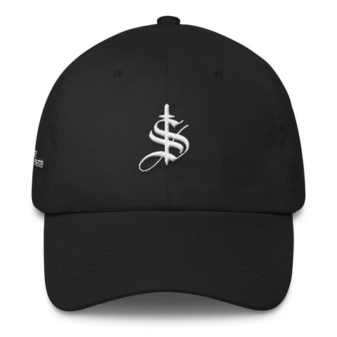 Old School Dad Hat - White Logo